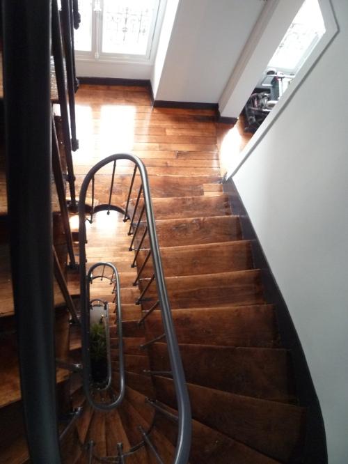 Cage d escalier paris 9e 2 rue de londres florian dhormes architecte - Cabinet deslandes syndic ...
